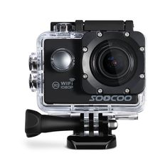 56.52$  Buy here - http://alimb9.shopchina.info/go.php?t=32780760351 - SOOCOO C10S Sports Action Waterproof Camera with Wifi Full-HD 1080p 12MP 2.0 LCD 170 Degree Wide Lens 56.52$ #buyonline