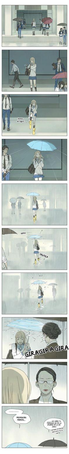 Diversión bajo la lluvia ☔