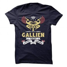 nice Its an GALLIEN thing shirt, you wouldn't understand