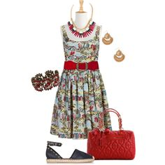 Fun dress- plus size, created by gchamama on Polyvore