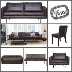 Be pure collectie, in zwart.