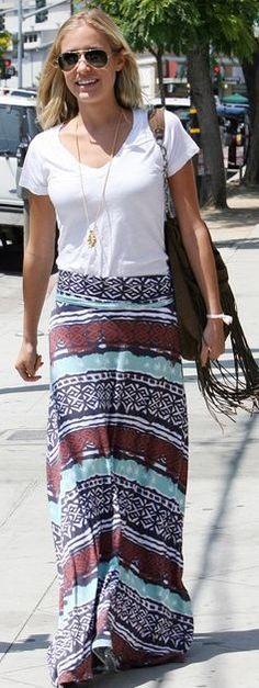 maxi skirt. i want.