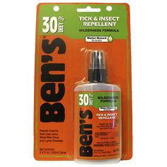 Adventure Medical Bens 30 Tick Repellent Pump, 3.4-Ounce >>> You can get more details by clicking on the image.