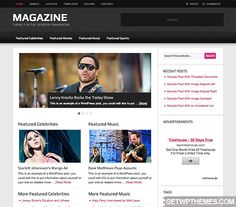 Magazine 2.1 - StudioPress Free WordPress Theme Download