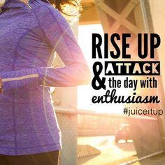 Enthusiasm!  Yeah Baby!