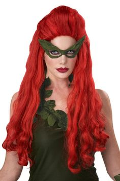 Lethal Beauty Red Wig - Candy Apple Costumes - Pop Culture Costume Halloween, Red Costume, Costume Wigs, Halloween Ideas, Mary Costume, Costume Makeup, Halloween 2020, Halloween Stuff, Halloween Party