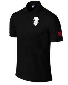 Dota 2 team secret slim fit polo shirts for men short sleeve- Slim Fit Polo Shirts, Short Sleeve Polo Shirts, Dota 2 T Shirt, Dota2 Heroes, Polo Ralph Lauren, Shorts, Casual, Video Game, Mens Tops