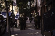'Funeral procession in Chinatown NYC' by jerklewis   Foap photo