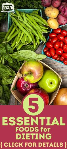 Want to try a new diet? Check out Dr. Oz's 5 essential foods for diet. He lists the types of foods, and what each does for your body and health. Diet Tips, Diet Recipes, Vegetarian Recipes, Healthy Recipes, Easy Recipes, Dr Oz, Healthy Foods To Eat, Get Healthy, Healthy Nutrition