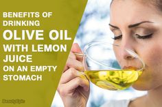 The mixing of olive oil with lemon provides a large amount of nutrients. This helps to calm diseases and prevent complications. Olive Oil Benefits, Lemon Benefits, Health Benefits, Honey Drink, Lemon Drink, Liver Cleanse, Liver Detox, Lemon Shots, Lemon Olive Oil