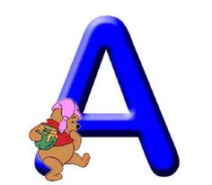 ABC Winnie the Pooh and friends - MFP Alfabetos & Números - Picasa Web Albums Cute Alphabet, Monogram Alphabet, Alphabet And Numbers, Winnie The Pooh Birthday, Winnie The Pooh Friends, Pooh Bear, Tigger, Quilling Letters, Decoupage
