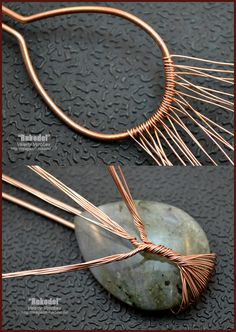 Handmade Tree of Life wire wrapped pendant - wire wrap tutorial. - Handmade Tree of Life wire wrapped pendant – wire wrap tutorial. Handmade Tree of Life wire wrapped pendant – wire wrap tutorial. Copper Wire Jewelry, Wire Jewelry Designs, Wire Jewelry Making, Diy Jewelry Tutorials, Copper Wire Crafts, Copper Wire Art, Wire Tutorials, Handmade Jewelry, Jewellery Diy
