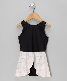 Take a look at this Black & Pink Skirted Leotard - Toddler & Girls by lavalune on #zulily today!