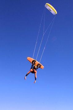 Old school kiteboarding on Cabrinha kite                                                                                                                                                                                 More