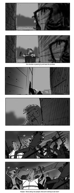 Laika Entertainment © Focus Features Some storyboard panel by Matt - script storyboard
