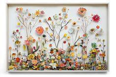 Anne Ten Donkelaar, Flower construction