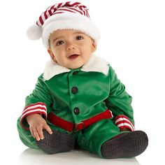 "Baby Elf Christmas Costume - Toddler Size 4-6 - Buyseasons - Toys ""R"" Us"