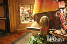 There is a Hidden Mickey in this pic taken at the Boutiki Store in the Polynesian Resort at Walt Disney World Resort.