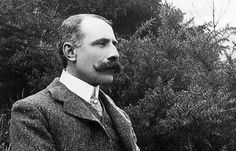 The mustache wars continue with the always-amazing Edward Elgar.