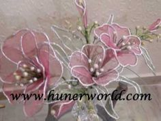 dri arrang, clays, flower making, claydough flower, candl art, clay flowers