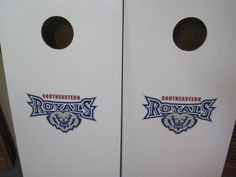 Go Royals (custom Cornhole set)