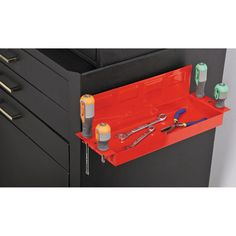 Magnetic Spray Can and Screwdriver Holder   Tools   Pinterest