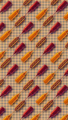 Hotdogs iPhone 5C / 5S wallpaper