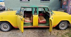 1965 Chevrolet Checker Marathon Sedan For Sale   AutaBuy.com Chevy Motors, Yellow Interior, Car Makes, Colorful Interiors, Marathon, Cars For Sale, Chevrolet, Antique Cars, Classic Cars