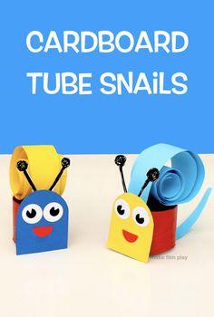 Cardboard Tube Snail – Make Film Play