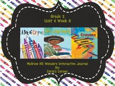 2nd Grade WONDERS FREEBIE!  As a THANK YOU to all of my wonderful 2nd grade supporters, I am providing this interactive journal FREE! XOXO... Thank you for making this little teacher's dream come true!