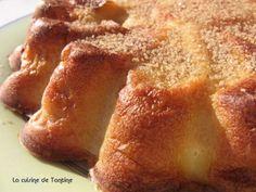 La recette fondante et idéale pour tous ceux qui ne peuvent pas manger de gluten ni de lait ! - Recette Dessert : Clafoutis de poires au lait d'amande par BLOG DE TANTINE