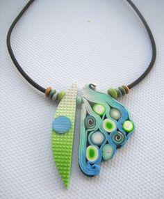 polymer clay art to wear