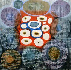 KAREN KUNC is internationally known for her large scale, elaborately colored, abstract woodcut prints.
