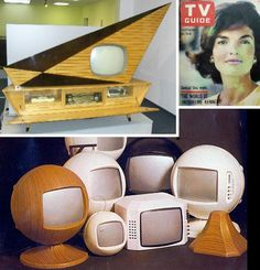 Cool vintage televisions