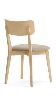 zara sedia con struttura in metallo e seduta in On ottavio snc arredamenti