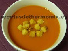 Receta de gazpacho para Thermomix