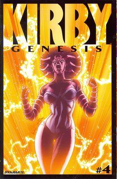 Kirby: Genesis #4 (variant)- Cover by Jack Herbert