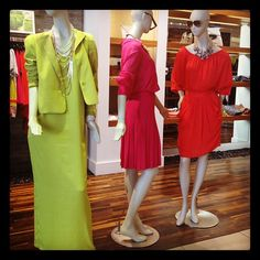 Fabulous selection of spring trends in bright colors @ BCBG Max Azria!