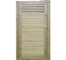 Left Hand Canterbury Combi Gate from Jacksons