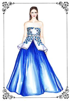 #dollmemories #giambattistavalli #fashion #fashionillustration