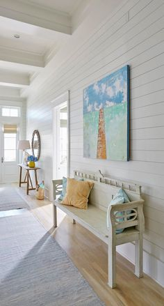 coastal hallway with