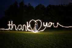 Wedding Sparklers- How to Make Your Wedding Photos Unforgettable!
