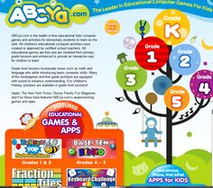 Free Educational Resource: ABCya.com Online Learning Games K-5