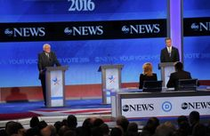 ABC News hosts the third Democratic Party debate for the 2016 primary season. Vote 2016, Super Tuesday, American Life, Democratic Party, Abc News, Vulnerability, Bullying, Comebacks, Tv Remotes