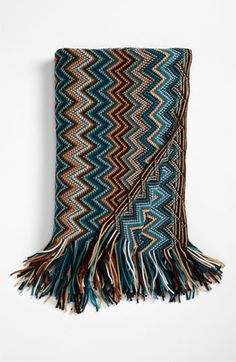 Kennebunk Home 'Caitlin' Chevron Knit Throw