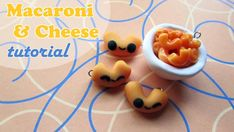 Tutorial: Macaroni and Cheese (polymer clay) by coolricebunnies
