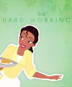 Disney 30 Day Challenge-Day 6: Tiana is gorgeous, not just the way she looks but her personality, hard work and determination!