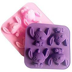 Stitch Silicone Cake Mould Chocolate Mold Soap Cartoon Mold DIY Sugar-Craft Tool