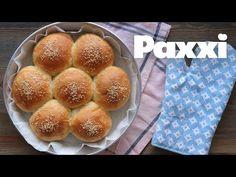 YouTube Tasty, Yummy Food, Greek Recipes, Burgers, Hamburger, Breads, Favorite Recipes, Baking, Hamburger Patties