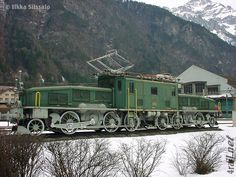 Swiss Crocodile locomotive